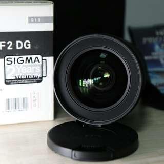 Sigma 24 - 35 mm F2 ART (Canon)