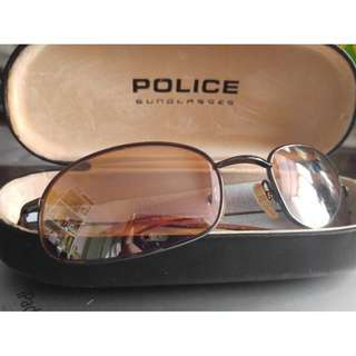 Police Sunglasses Col 584 荼鏡 太陽眼鏡 Made in Italy