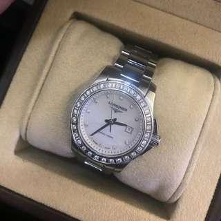 Longines lady's diamond watch