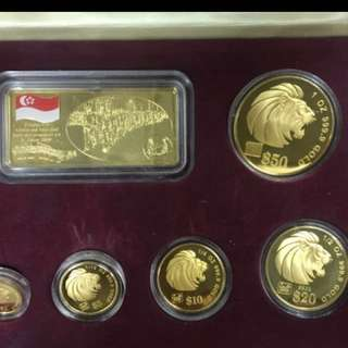 Want to buy Singapore gold platinum  proof ones