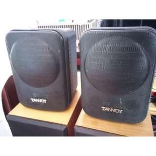 TANNOY 天朗 同軸全音喇叭 coaxial speaker 一對