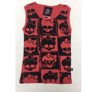 Monster High Skeleton Singlet