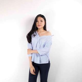 Larissa Stripe Shoulder