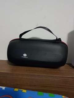 Travel Zipper Flip Case Bag for JBL Charge 2/Pulse Bluetooth Speaker (Black)