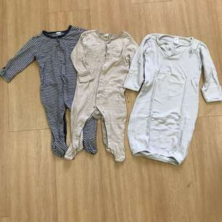 Old Navy Sleepsuits 3-6 months