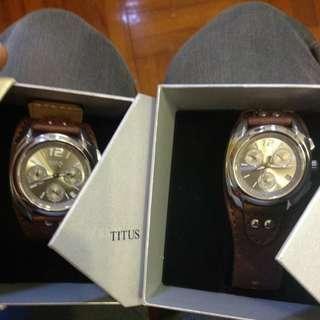 Titus 情侶手錶