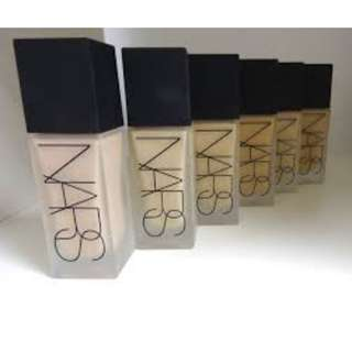NARS All Day Luminous Weightless Foundation 30mL BRAND NEW & AUTHENTIC (NO OFFERS) SELECTED SHADES AVAILABLE