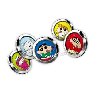 (包郵)🇰🇷Crayon Shin-chan Smart Phone Ring-O 蠟筆小新手機扣