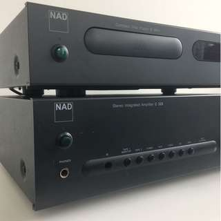 NAD Amplifier C320 and CD Player C541i