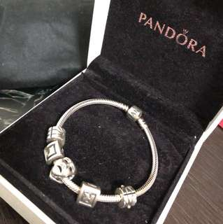 Pandora 銀手鏈