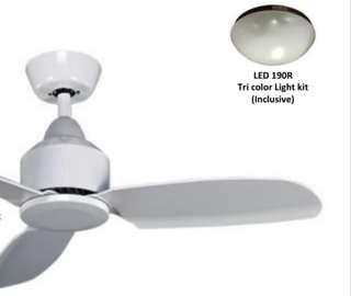 Ceiling Fan light kit bronze rim(not selling fan,only Light Kit IN SEAL CONDITION)