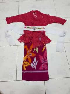 Traditional Balinese costume for girls