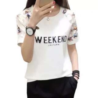 Korean style t-shirts casual wear (new)