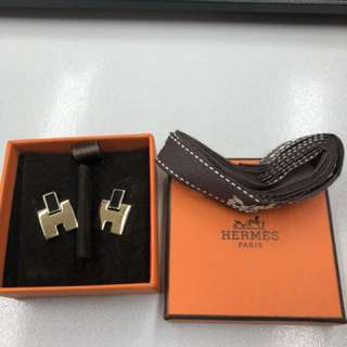 Hermes Brand New Earrings