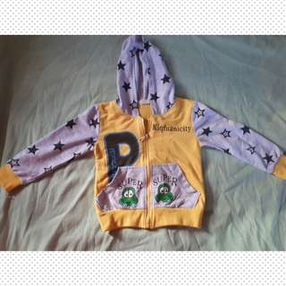 Jacket with Hood; 1-2 yrs old
