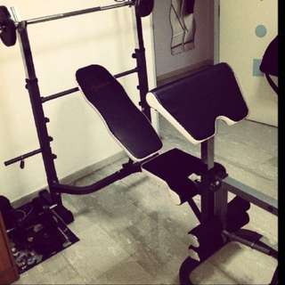 Personal gym brench