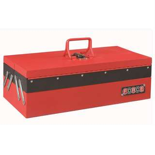 FORCE Cantilever Tool Box with 3 trays-50233