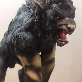 狼人石膏手辨模型