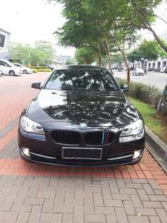 BMW 528I F10 Twinturbo Executive AT Black on Black 2012