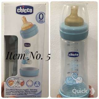 Chicco Wellbeing Bottle Angled 250ml. Regular Flow