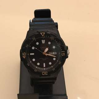 Casio Analog 100m Water Resistance Watch