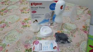 Pigeon breastpump elektric portable