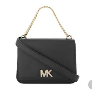 MICHAEL MICHAEL KORSLogo leather shoulder bag