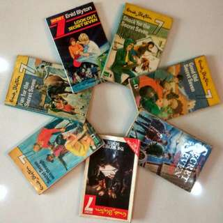 $0.70 7 secret 7 books. enid blyton 7books$4.90 secret seven