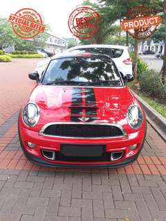 Minicooper Roadster S Coupe 1.6 Turbo AT 2013 Red on black