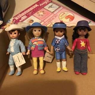 古董玩具 亞歷山大 Alexander 娃娃 McDonald's 麥當勞 玩具 開心樂園餐