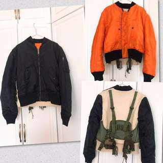 Remade Alpha Industries MA-1 Jacket 軍䄛 外套