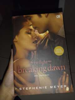 NOVEL BREAKING DAWN - STEPHANIE MEYER
