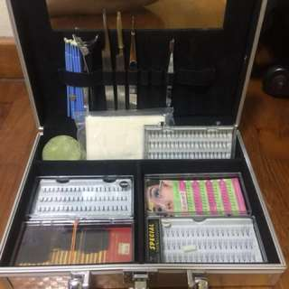 Eye lash extensions set without box
