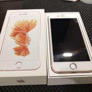 🚚 台積電版iPhone 6s 玫瑰金 16G 神腦整新機 不議價