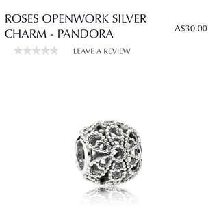 PANDORA Charm flower