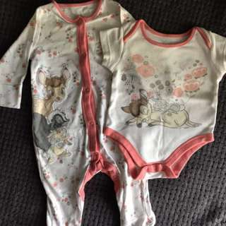 Mothercare set 3-6mos up to 17.5lbs or 8kg