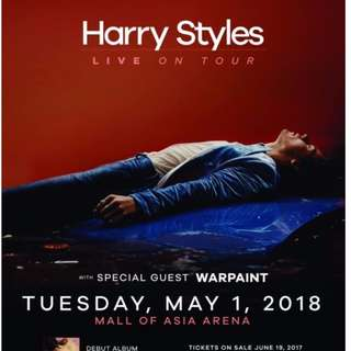 LOOKING FOR 2 TIX OF LB OR GEN AD HARRY STYLES MANILA TOUR