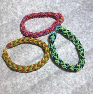 Handmade loom bands