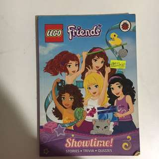 Lego friends children's book