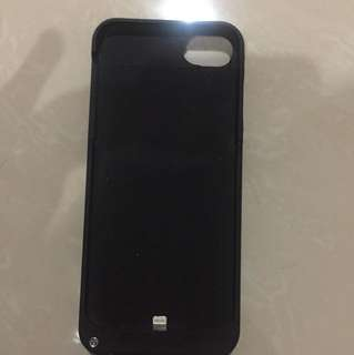 POWERCASE POWER BANK IPHONE 6 7 CASE BLACK 3200MAH