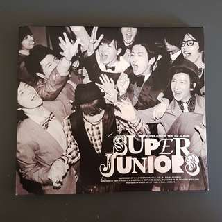 Super Junior Vol. 3 - Sorry, Sorry (Version B)