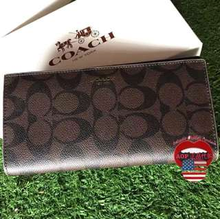 Coach 75013 Unisex Wallet 100% authentic