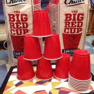 Kirkland Red Beerpong Cups