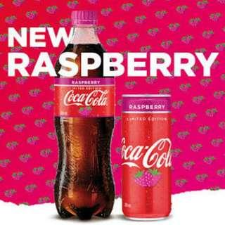 Coca-Cola Raspberry澳洲版可口可樂 330ml 玻璃樽裝