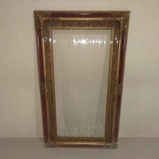 """Oil painting frame ,outer:30""""x18"""",inner:23.5""""x11.5"""""""