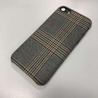 *9折* iPhone 6 7 8冬日系列格仔絨面電話殼 iphone Phone Case