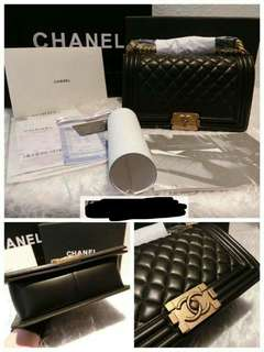 Luxry Authentic Chanel Boy