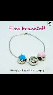 Free bracelet event! Charms fit pandora trollbeads