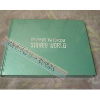 [CRAZY DEAL 80% OFF FROM ORIGINAL PRICE][READY STOCK]SHINEE KOREA 1ST CONCERT SHINEE WORLD PHOTOBOOK (NO POSTER) SEALED ! NEW!OFFICIAL ORIGINAL FROM KOREA (PRICE NOT INCLUDE POSTAGE)PLEASE READ DETAILS FOR MORE INFO