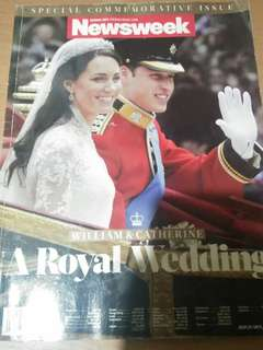 Newsweek.Magazine Royal Wedding Special Issue